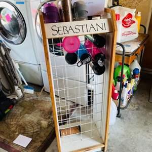 Lot # 182- Sebastiani Wine Holder- Holds 40 Bottles