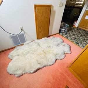 Lot # 48-Beautiful Lamb Skin Rug
